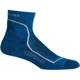 Icebreaker Hike+ Light Mini Socks Men isle/white/midnight navy